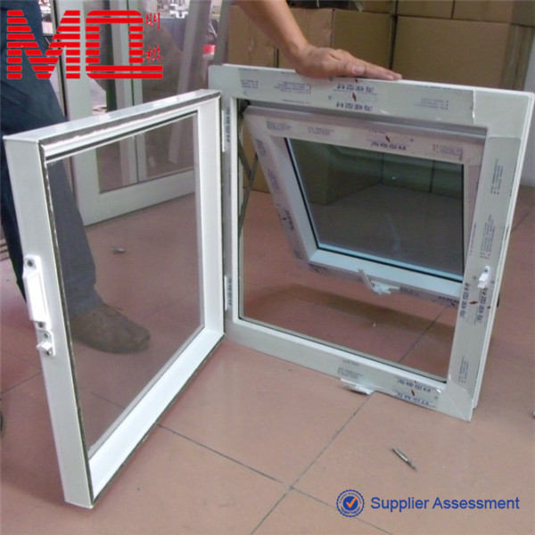 Bottom Hung Windows : Bottom hung casement window inward opening pvc windows