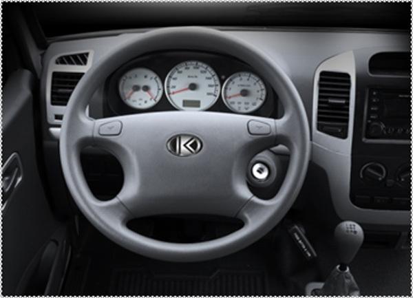 Kingstar plutão B6 1 Ton gasolina Van de carga