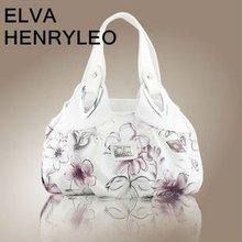 Hot sale 2012 N/S fashion fresh flower ink printed elegant women handbags
