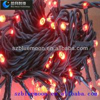 BM-CSL101 wholesale red christmas rice lights 110-220V christmas string lights