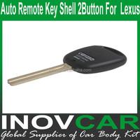 Auto Remote Key Shell 2 Button For Lexus Car Remote Key Shell
