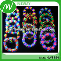 Color changing uv rubber bands glow in the dark bracelet