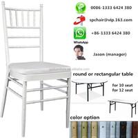 Discount Foshan factory(near Guangzhou) low price silla wedding tiffany chair rental