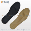 comfortable sheepskin Insole orthotic leather insoles