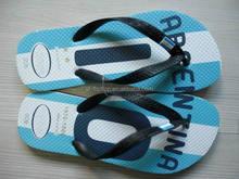 Custom design rubber man slipper
