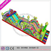 new nice inflatable obstacle course
