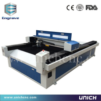 Metal and non-metal mixed cnc hot sale metal laser cutting machine