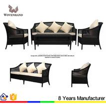 Deicate rattan garden sofa furniture