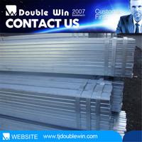 China pipe porn tube/ steel tube 8 manufacturer Doublewin Q215 80*80 mm Pre-galvanized Square Steel Pipe