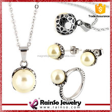 Low MOQ 12 Set Costume Jewelry Necklace And Earring Sets