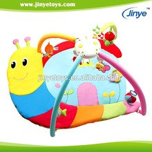 polyester cotton fabric baby musical carpet folding gym mat