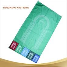 wholesale travel islamic polyester kids prayer mat