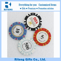 Hot 14g Clay Casino Chips Custom