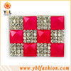 High quality hotfix rhinestone embellishment for wedding invitations