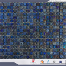 iridescent mosaic glass tiles navy blue mosaic tiles stone skin mosaic