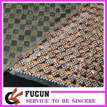 1 Sheet 24*40cm Square Hot fix Diamond Rhinestone Crystal A Pointed Back mesh