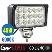 Liwin brand lw 45w portable led work lights for vehice Atv SUV atv cars parts auto light 4x4 accessory