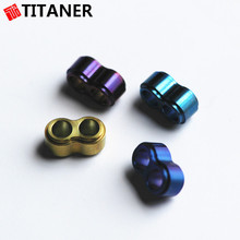 TITANER best quality control titanium metal cord stopper drawer stopper rope stoppers
