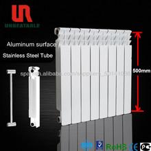 radiador de acero inoxidable de aluminio de agua bimetálico