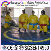 2015 New Inflatable Sports Games Foam Padded Sumo Suit For Hot Sale