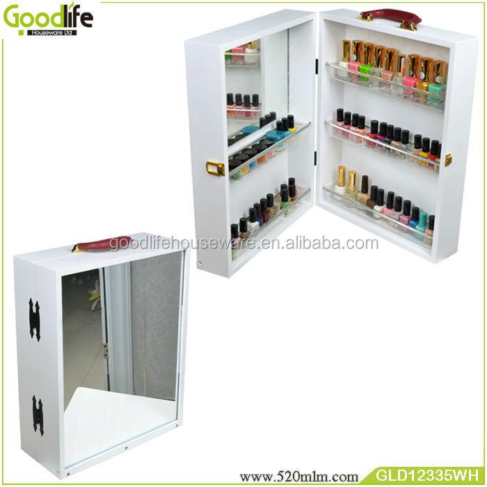 Draagbare houten kist voor opslag van nagellak groothandel goodlife hout ambachten product id - Opslag voor dressing ...