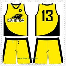 Top grade latest asia basketball uniforms