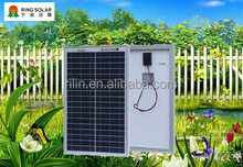 High quality low price small solar panel Chinese Ningbo flexible18V 25W poly solar panel