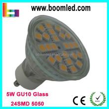 High Efficiency 80LM/W Spot 4W GU10 LED Lamp