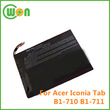 Replacement Battery for Acer Iconia Tab B1 B1-710 Tablet OEM Battery BAT-715 3.7V 2710mAh Lithium ion Battery for Acer Tablet