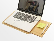 Fashion laptop stand, lap desk,High quality samll bamboo laptop stand