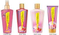 Hot sell product Fragrance mist+Body wash+Body lotion+Body cream