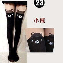 cartoon socks knee pants autumn stockings