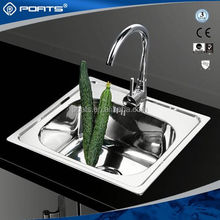 Advanced Germany machines factory directly custom design ceramic small cabinet bar sink of POATS