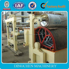 2100 mm toilet paper/ tissue paper production line raw material: waste paper / wood pulp