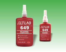 250ml Locti 649 High Strength High Temp Acrylic Acid Free Retaining Compound