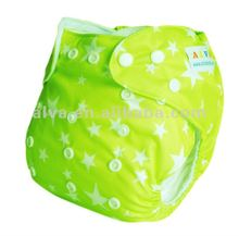 Cloth diapers baby 135 colors reuseable changeable with one insert printed diaper baby wears 2012
