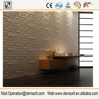 SOLVENT PRINTABLE 3D home wallpaper ,3d wall panel for home decor
