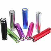 portable pocket travel essential 2200mah mini size lipstick power bank for smartphone