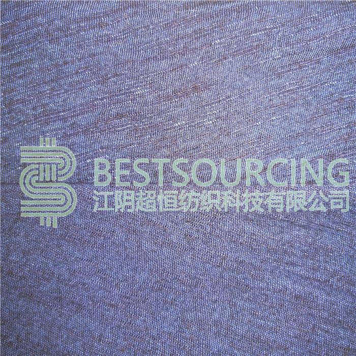 indigo knitted fabric