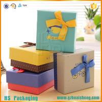 unique rigid paper nested decorative gift boxes wholesale with custom logo
