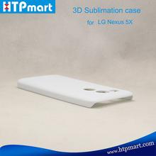 3D blank sublimation anti gravity phone case for LG Nexus 5X