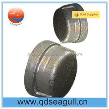 NPT standard threaded malleable iron pipe end cap