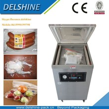 2015 Factory Price! Food Beans Fruit Vegetables DZQ-600 Filling Gas Single Chamber Vacuum Packaging Machine with CE