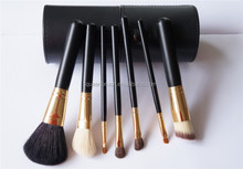 High Quality Brand Cosmetic Brush 12pcs Natural Hair Make Up Brush Set with Cylinder Case