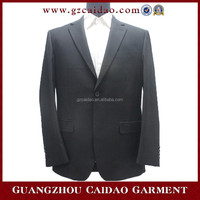 Custom Fitted Black Classic Fashion Men Suit Jacket Wholesale