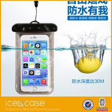 2015 factory cell phone waterproof of bag waterproof of mobile bag and waterproof of swimming bags