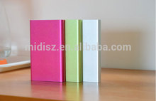 Hot factory wholesale high quality ultra slim power bank for all smartphone