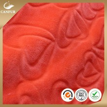 Fancy 2015 polyester coral fleece knitting fabric