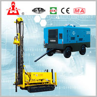 small Crawler Drilling rig machine/ KW20 Water Well Drilling Rig / 100m~200m