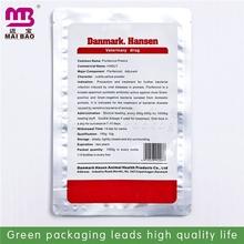 Top product aluminum vacuum bag with ziplock for food packing